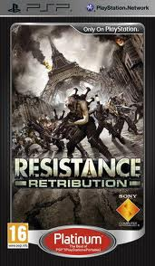 Resistance Retribution (bazar, PSP) - 129 Kč