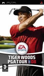 Tiger Woods PGA Tour 08 (bazar, PSP) - 99 Kč