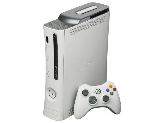 Microsoft Xbox 360 Arcade 120GB HDD + 2 Hry zdarma (bazar) - 2199 Kč