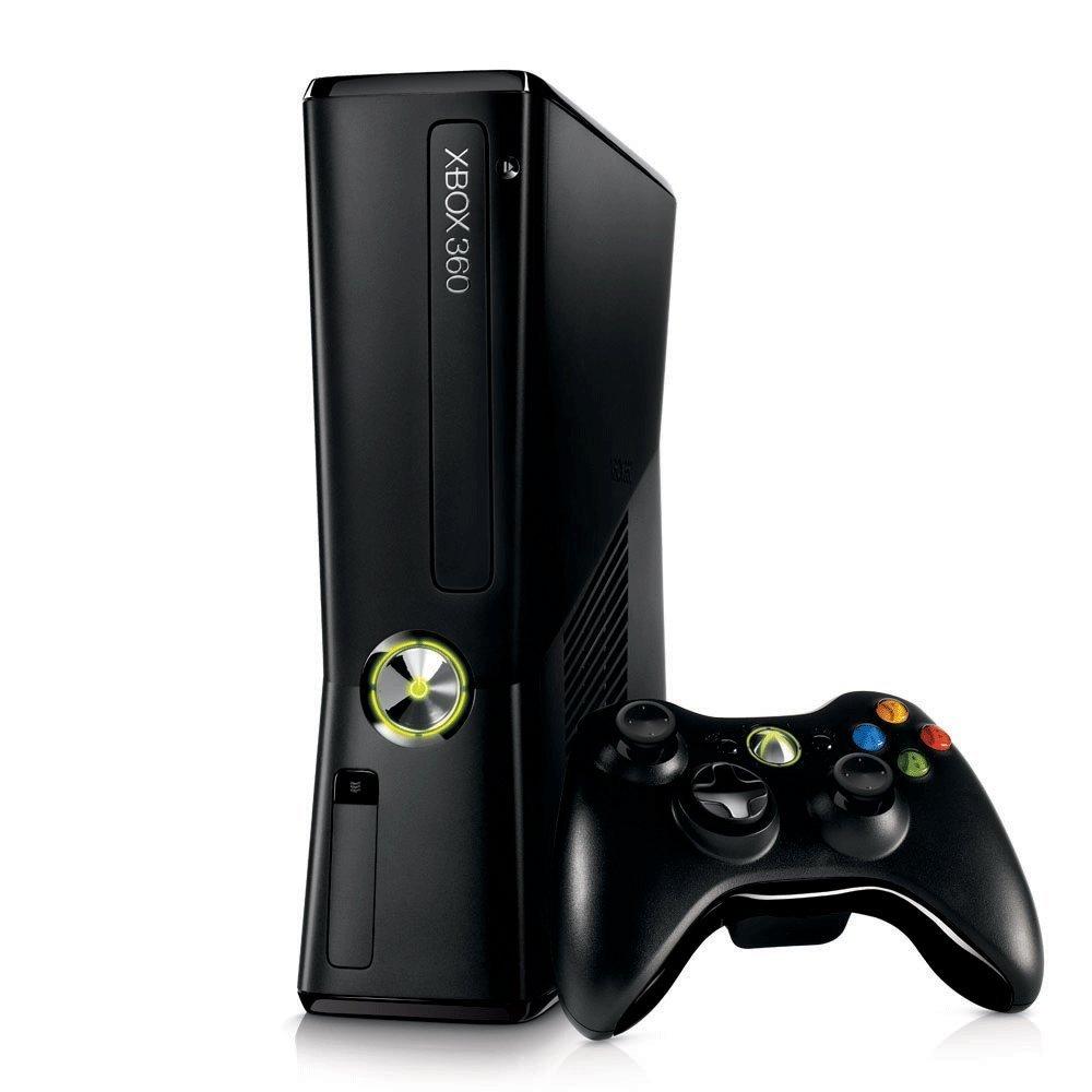 Microsoft Xbox 360 Slim 60GB + 4GB (bazar) - 2499 Kč