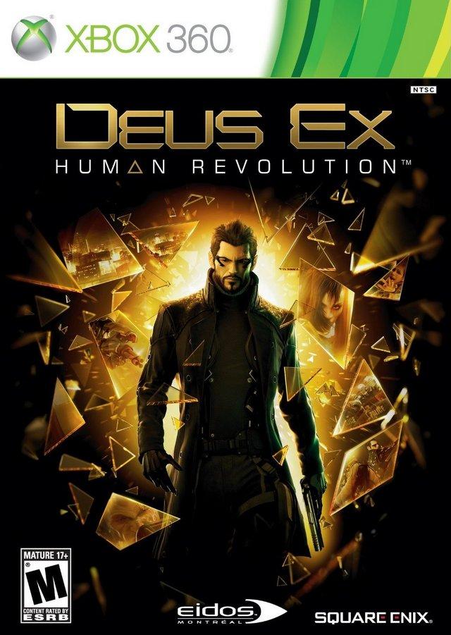 Deus Ex Human Revolution (bazar, X360) - 99 Kč