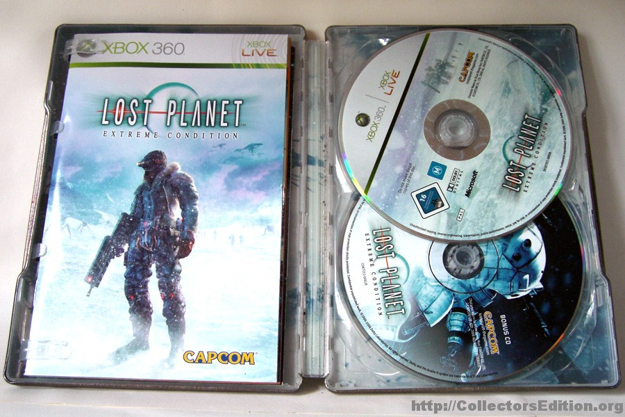 Lost Planet Extreme Conditions steelbook (bazar, X360) - 259 Kč