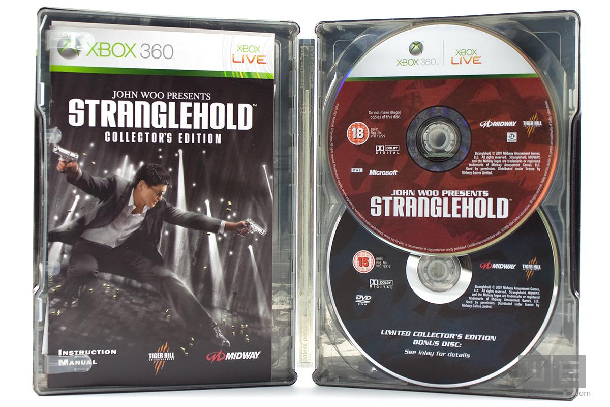John Woo Presents Stranglehold Colectors Edition, steelbook (bazar, X360) - 329 Kč