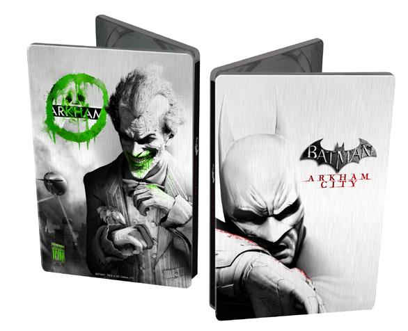 Batman Arkham City Steelbook (bazar, X360) - 299 Kč