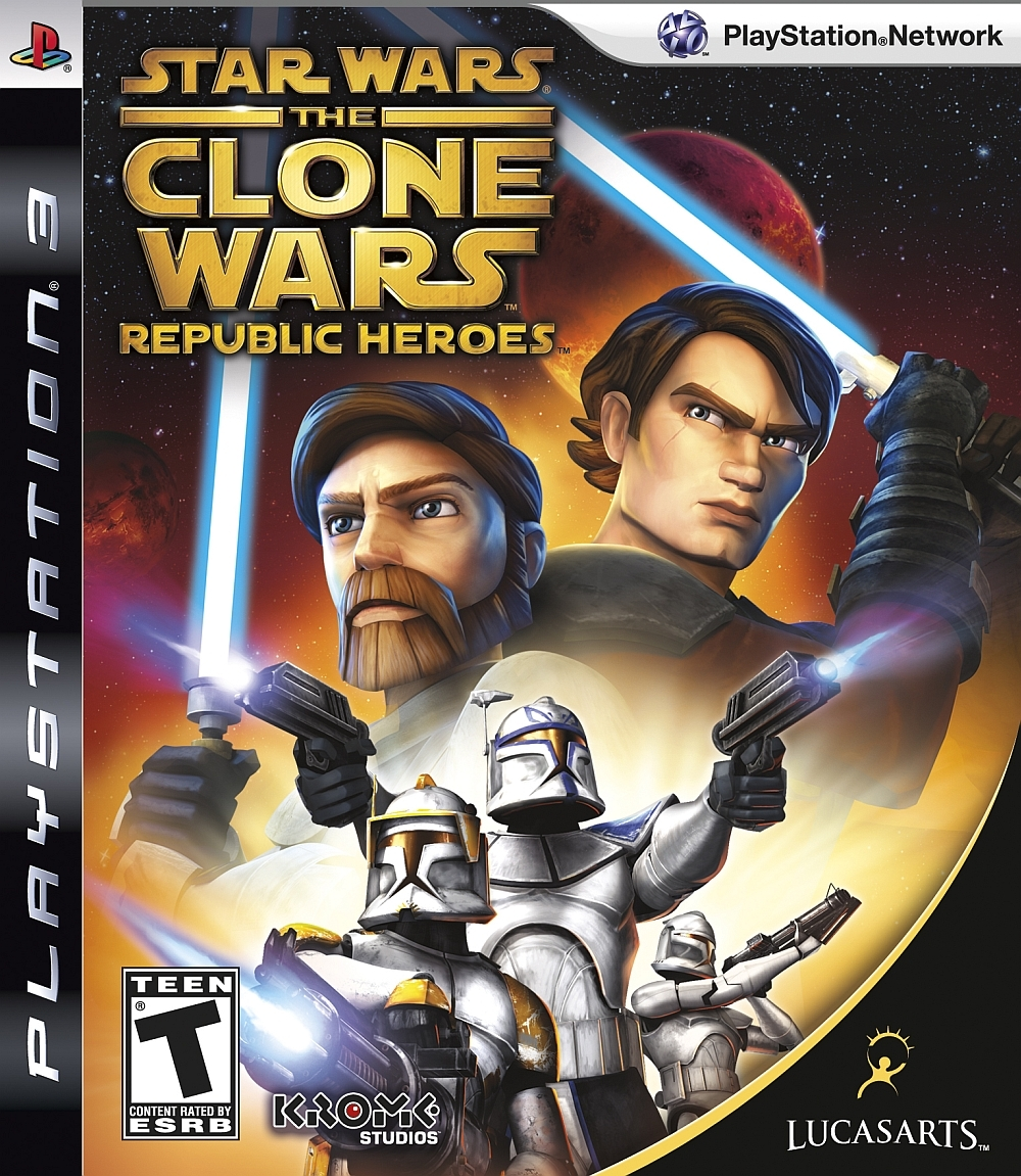 Star Wars The Clone Wars Republic Heroes (bazar, PS3) - 149 Kč