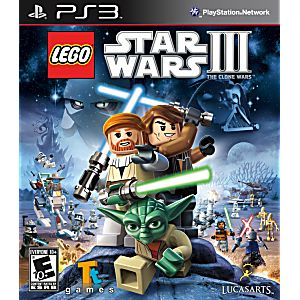 LEGO Star Wars III The Clone Wars (bazar, PS3) - 289 Kč