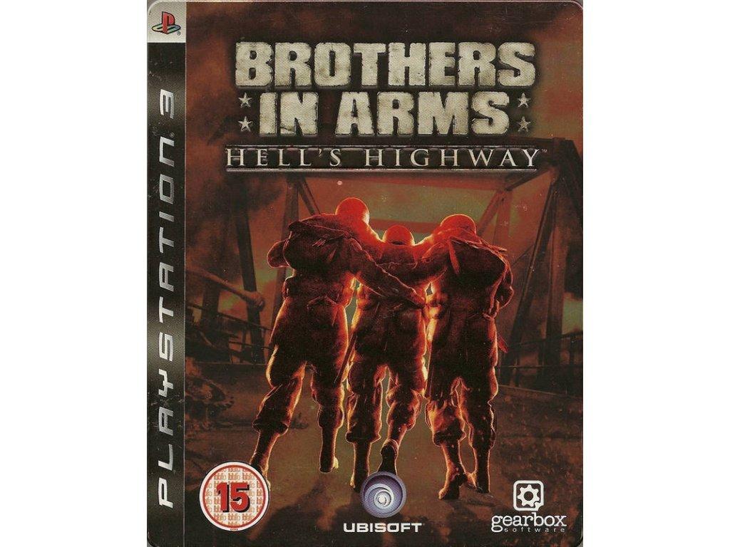 Brothers in Arms Hells Highway steelbook (bazar, PS3) - 259 Kč