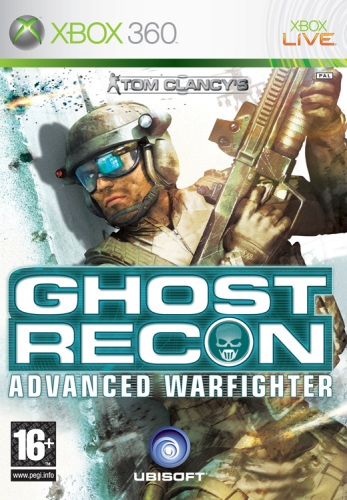 Tom Clancys Ghost Recon  Advanced Warfighter (bazar,X360) - 79 Kč