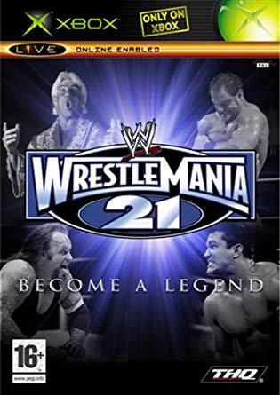 Wwe Wrestlemania 21 Become a Legend  (bazar, XBOX) - 299 Kč