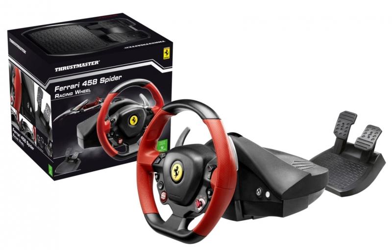 Thrustmaster (volant s pedály) 458 Spider, Xbox ONE (nový) - 2589 Kč