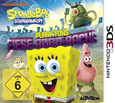 Spongebob Schwammkopf Planktons Fiese Robo Rache (bazar, 3DS) - 529 Kč