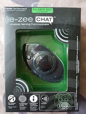 E-zee CHAT Bezdrátový herní komunikátor Xbox 360   (nový) - 259 Kč