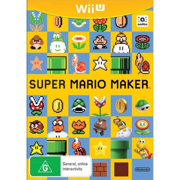 Super Mario Maker  (bazar, Wii U) - 459 Kč