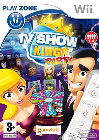TV Show King Party (bazar, Wii) - 99 Kč