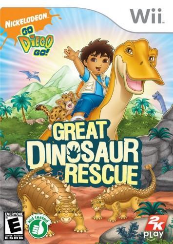 GO DIEGO GO! Great Dinosaur Rescue (bazar, Wii) - 299 Kč