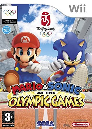 Mario & Sonic At The Olympic  Games (bazar, Wii) - 599 Kč