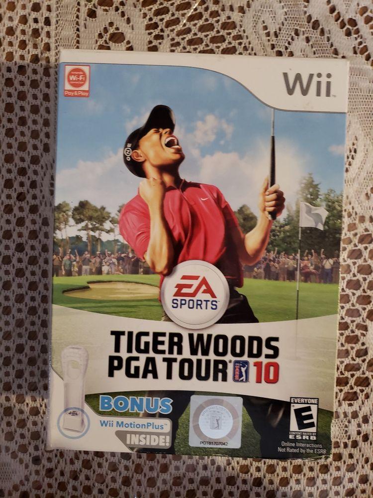 Tiger Woods PGA Tour 10  (bazar, Wii) - 159 Kč