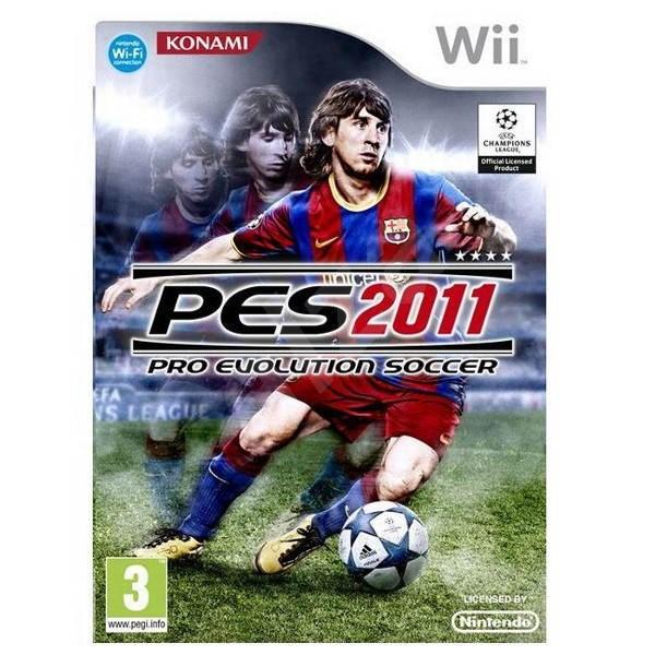Pro Evolution Soccer 2011 / PES 2011 (bazar, Wii) - 159 Kč