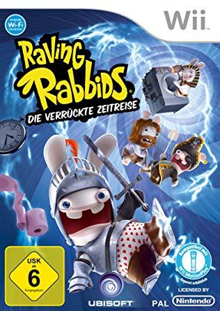 Raving Rabbids Die verrückte Zeitreise (bazar, Wii) - 329 Kč
