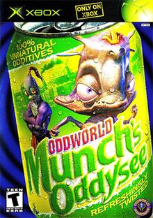 Oddworld Munchs Oddysee (bazar, Xbox) - 699 Kč