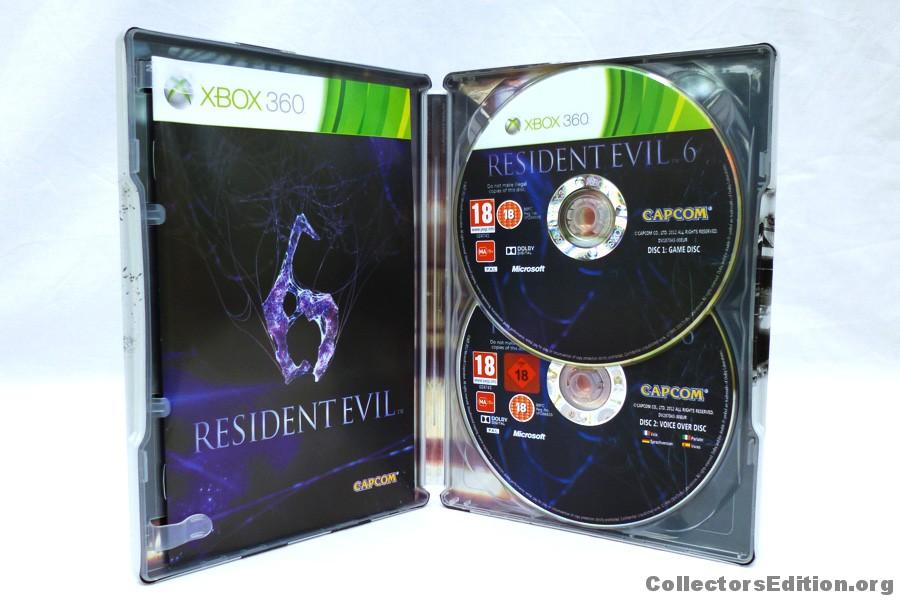 Resident Evil 6 steelbook (bazar, X360) - 299 Kč
