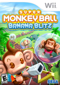 Super Monkey Ball Banana Blitz (bazar, Wii) - 259 Kč