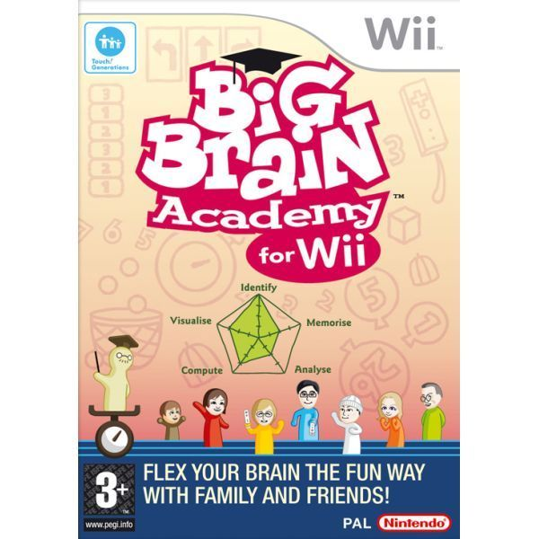 Big Brain Academy for Wii  (bazar, Wii) - 199 Kč