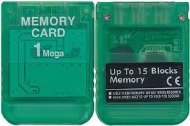 Paměťová karta Playstation 1 MB (nová) - 199 Kč