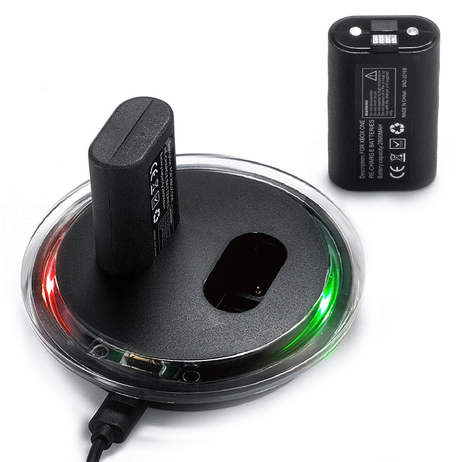 Nabíjecí stanice SND-362 + 2x baterie pro Xbox One - black (XONE) - 459 Kč