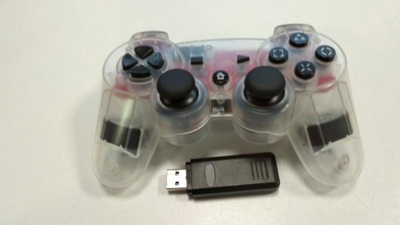 Bezdrátový ovladač na USB přijímač na PS3 - bazar - 399 Kč