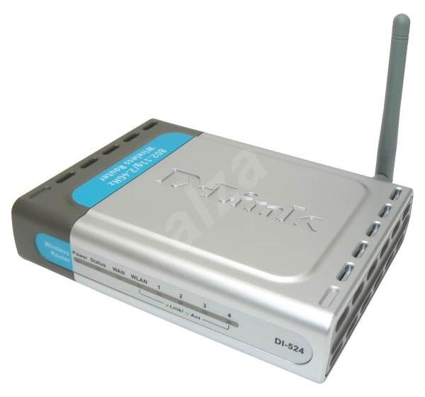 Router D-Link DI-524 (bazar) - 359 Kč