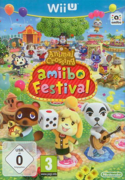 Animal Crossing Amiibo Festival + 4 figurky (bazar, Wii U) - 329 Kč