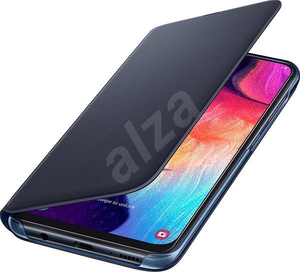 Pouzdro Samsung Galaxy A6 Wallet Cover černé - nové - 429 Kč