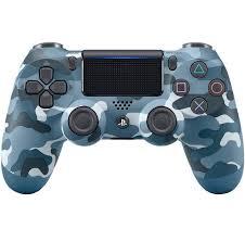 Sony Dualshock 4 Controller blue Camouflage (nový, PS4) - 1399 Kč