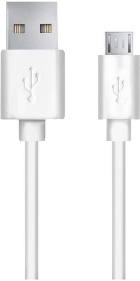Esperanza EB178W Micro USB 2.0 A-B M/M, 1,2m, bílý - nový - 59 Kč