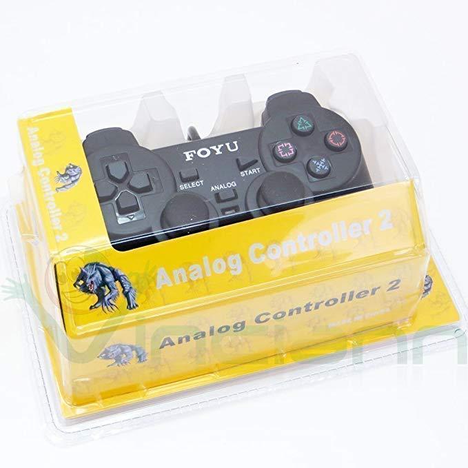 Analogový ovladač Controller 2 na PS2, drátový - nový - 199 Kč