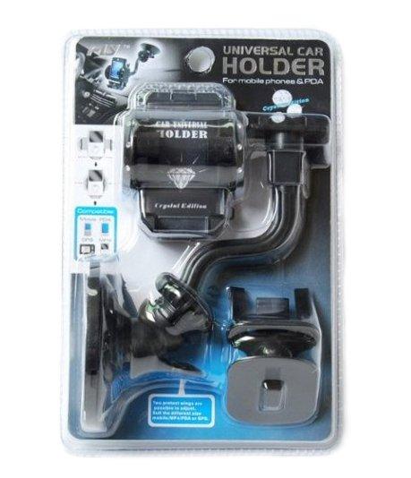 HOLDER univerzální držák mobilu  do auta Crystal Edition - nové - 159 Kč